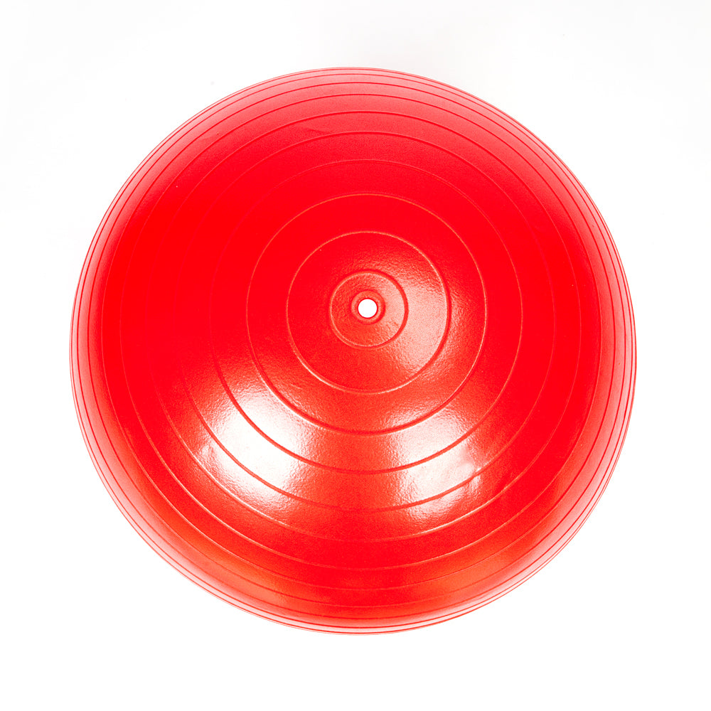 85cm 1600g Gym/Household Explosion-proof Thicken Yoga Ball Smooth Surface Red | 21867616