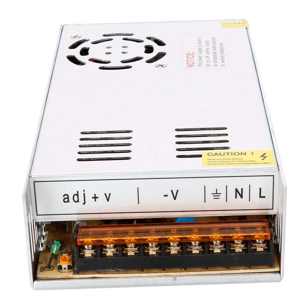 12V DC 30A 360W Regulated Switching Power Supply Silver | 16231481