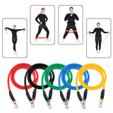 15 in 1 Natural Latex Fitness Resistance Bands Strength Training Set | 37334741