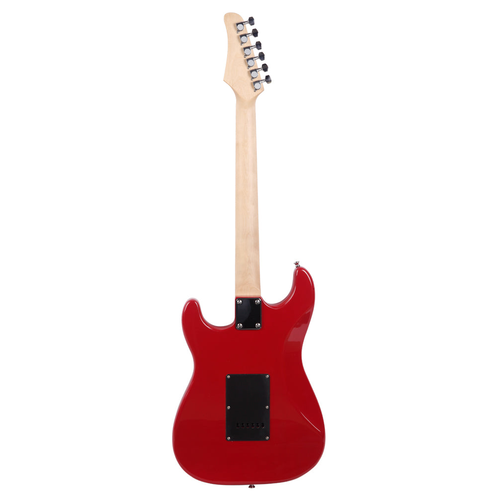 ST Stylish Electric Guitar with Black Pickguard Red | 07478467