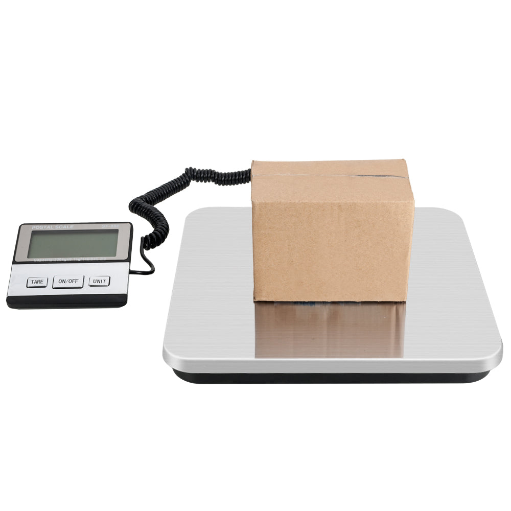 SF-888 200KG/50G SF-888 White Backlit LCD Plastic Electronic Scale Silver | 69065699