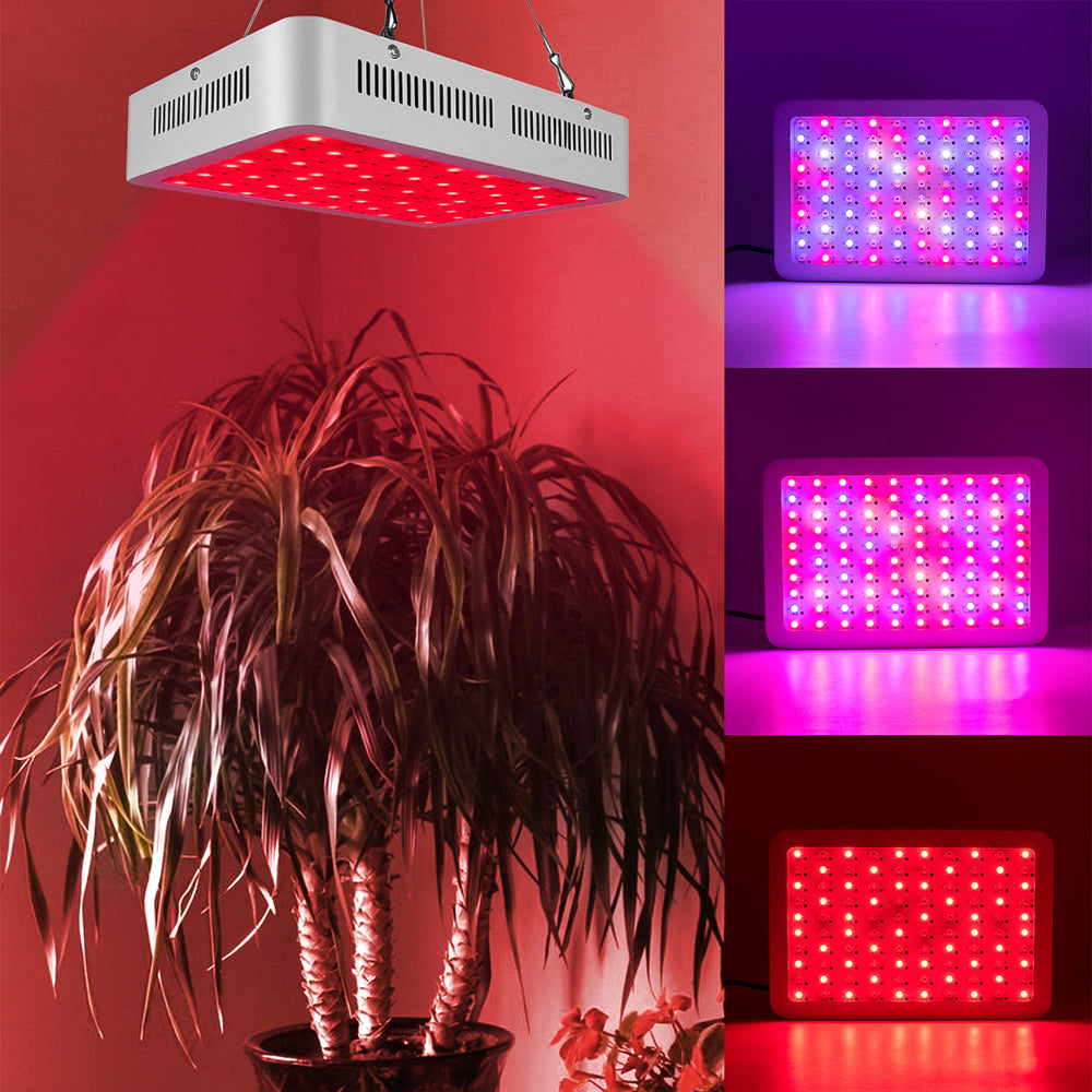 1000W Dual Chips 380-730nm Full Light Spectrum LED Plant Growth Lamp White | 52876722
