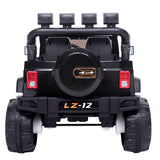 12V Kids Ride On Car Toy Jeep Rechargeable Battery 4 mph Remote Control Black US | 26224467
