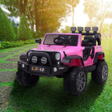 12V Kids Ride On Car Toy Jeep Rechargeable Battery 4 mph Remote Control Pink US | 35200377
