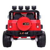 12V Kids Ride On Car Toy Jeep Rechargeable Battery 4 mph Remote Control Red US | 66476398
