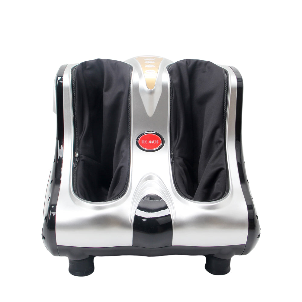 Smart Kneading Rolling Vibration Shiatsu Foot Calf Leg Massager 110V US Plug Gray | 90604217