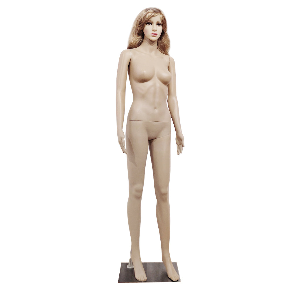 XSL5 Female Straight Hand Straight Foot Body Model Mannequin Skin Color  | 96455054
