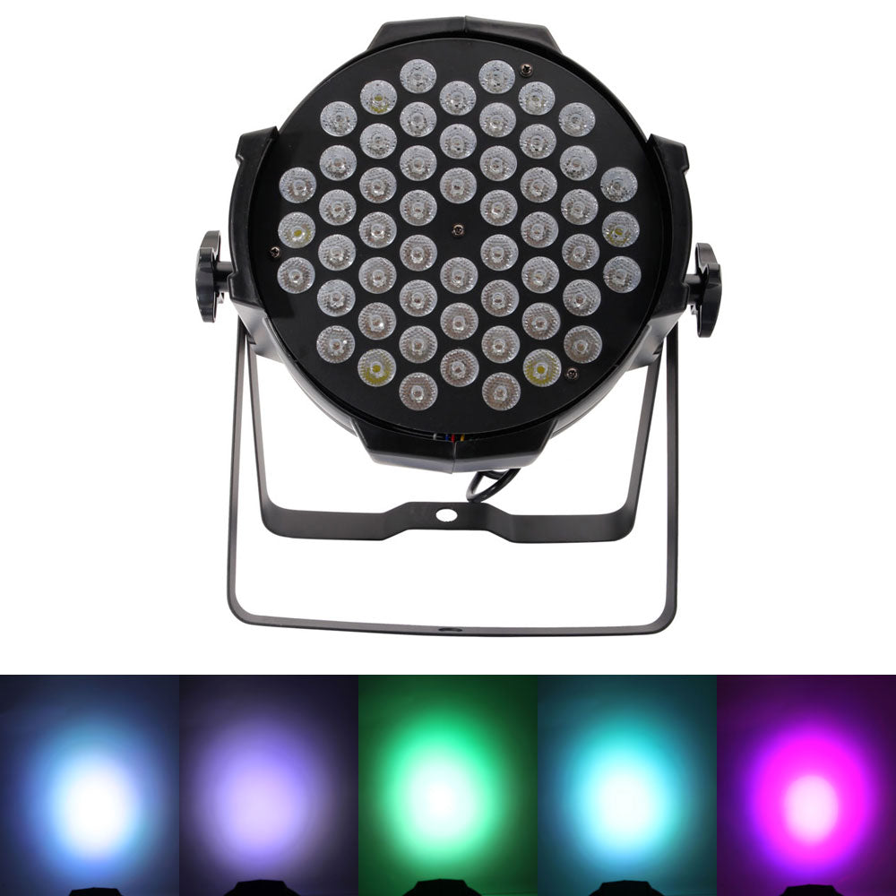 180W 54*3W RGBW DMX512 / Auto / Sound Active / Master-Slave DJ Bar Stage Party Parcan Ligh | 73868027