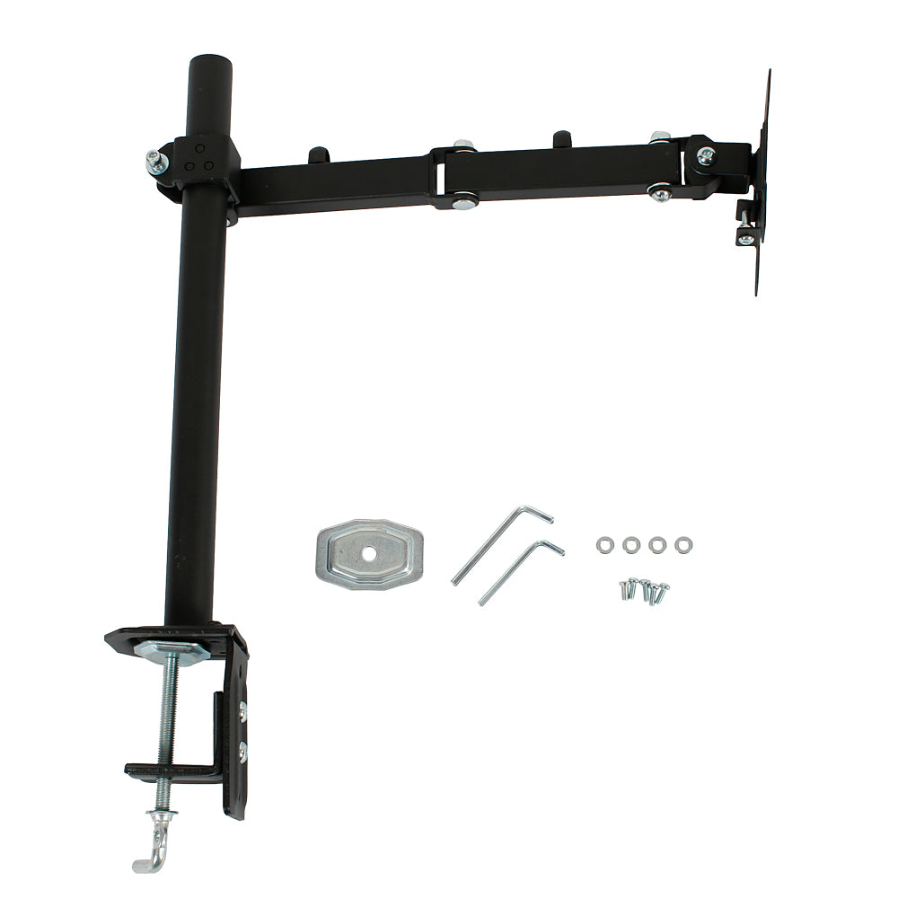 "13-27"" Single Arm LCD Desktop Support Black 