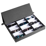 18 pcs Sunglasses Organizer Eyewear Display Storage Case Tray | 29323650