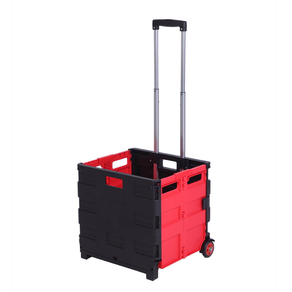 Two-Wheeled Collapsible Handcart Rolling Utility Cart with seat Heavy Duty Lightweight | 13032172