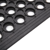 Bar Kitchen Industrial Multi-functional Anti-fatigue Drainage Rubber Non-slip Hexagonal Mat 60*90cm | 31236019