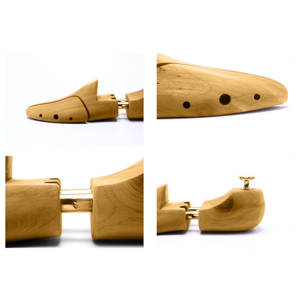 1 Pair Professional Adjustable Wooden Shoes Stretcher 43-44 | 45766522