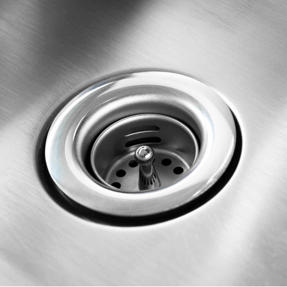"17"" Commercial Stainless Steel Wall-mounted Hand Sink with Side Splashes Silver 