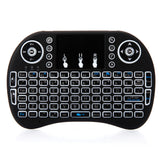 MINI i8 2.4GHz 3-color Backlight Wireless Keyboard with Touchpad Black | 40101800
