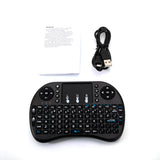 i8 Mini 2.4GHz Wireless Keyboard with Touchpad Black | 79485781