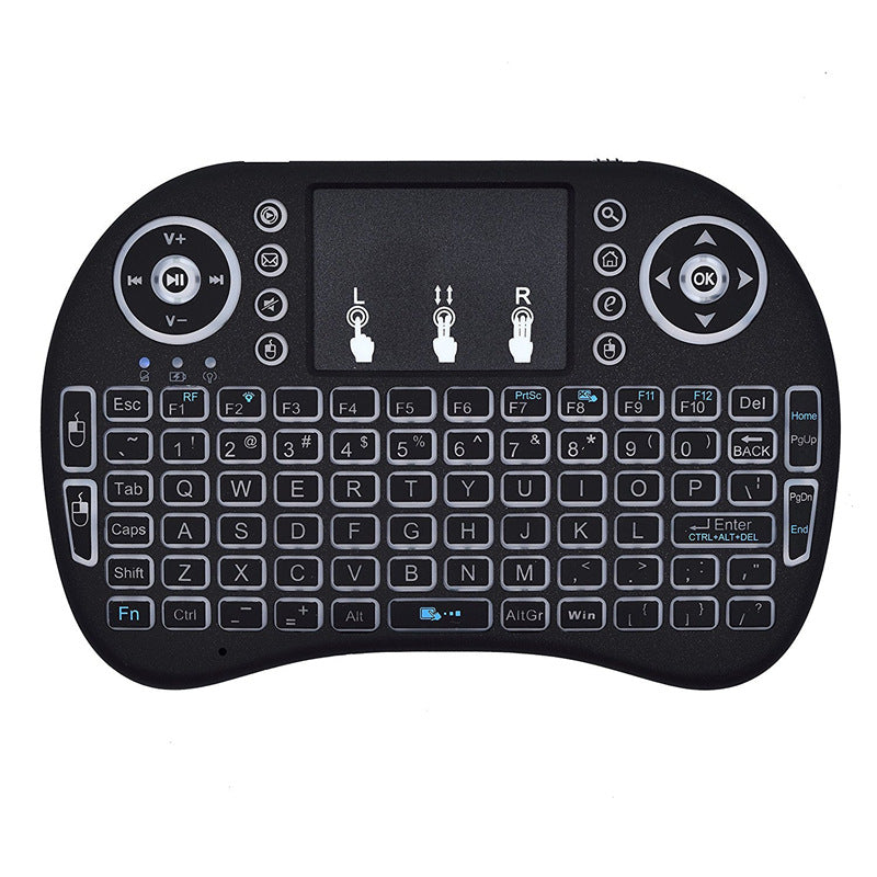Mini i8 2.4G Air Mouse Wireless Keyboard with Touchpad Black | 91822850