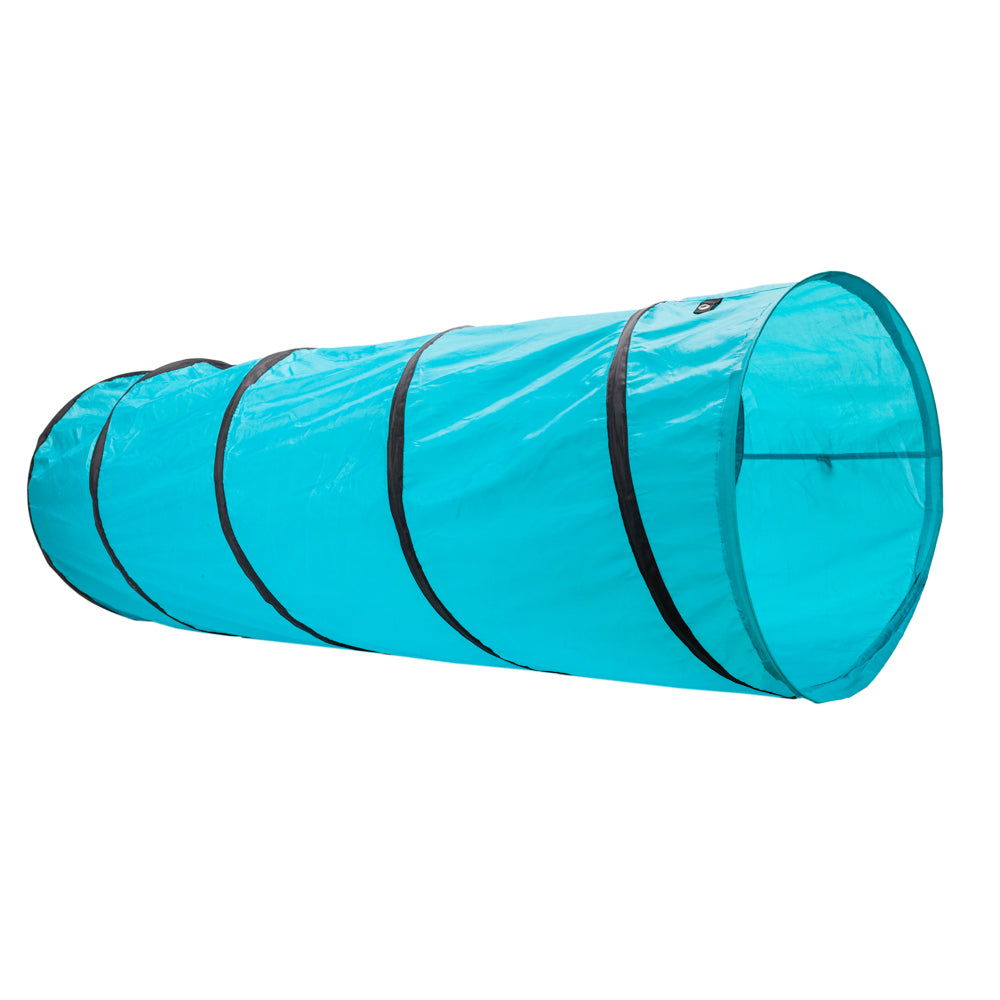 18' Agility Training Tunnel Pet Dog Play Outdoor Obedience Exercise Equipment Blue | 30485296