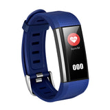 M200 Color Screen Bluetooth 4.0 Waterproof and Dust proof IP67 Smart Bracelet Blue | 06144096