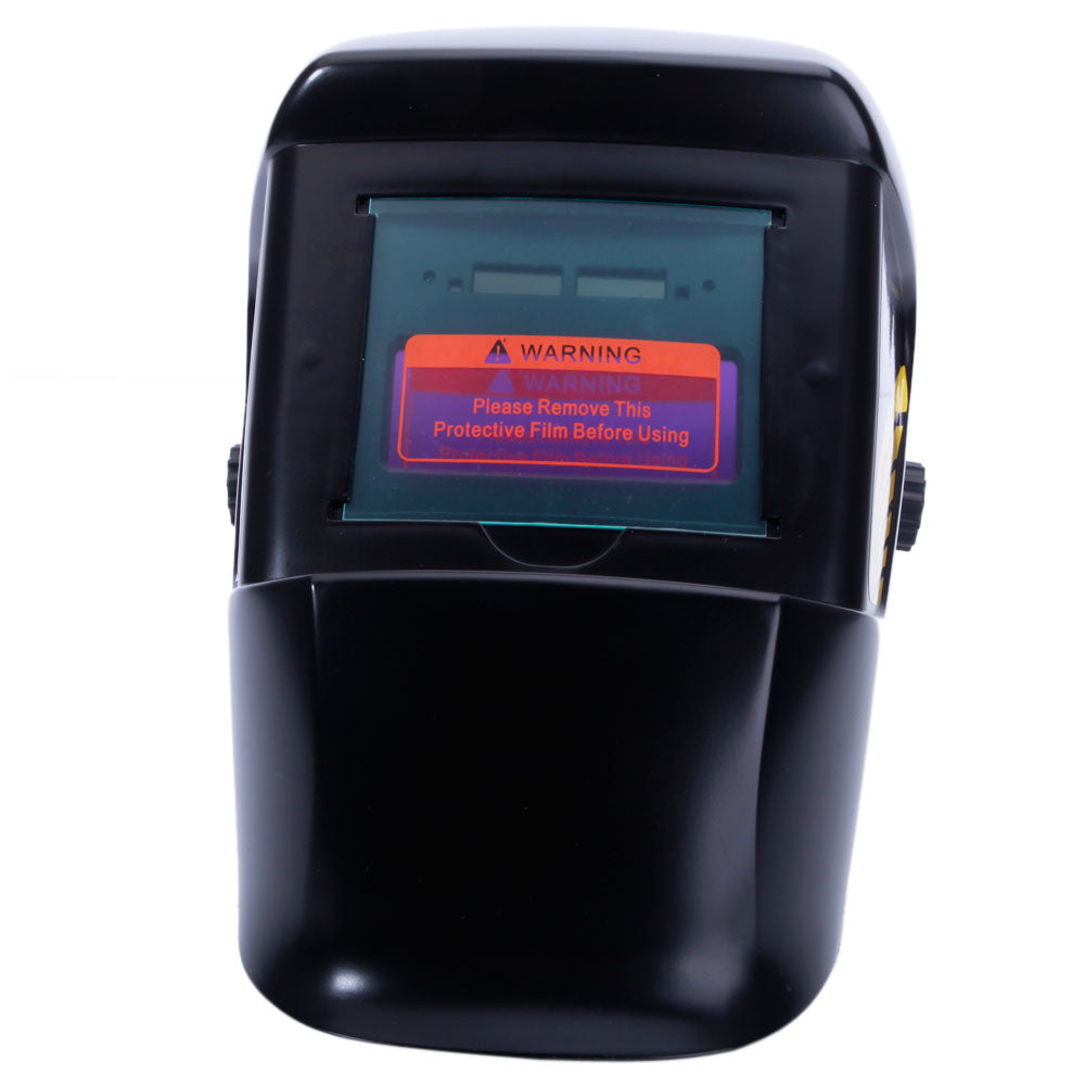 WS-2009 Solar Powered Auto Darkening Welding Helmet Black | 31972935