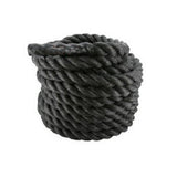 "1.5"" x 40ft Professional Lightweight Fitness Rope Black 
