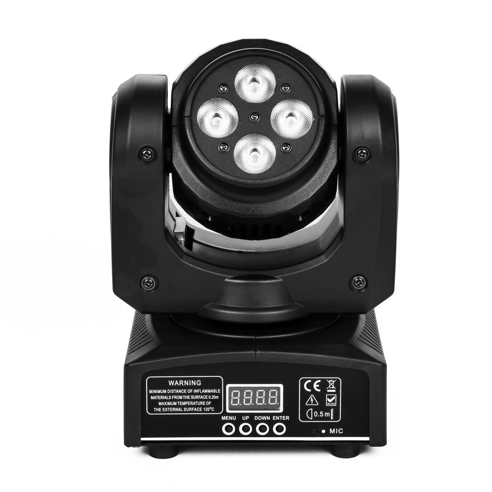 100W DMX512 / Auto / Sound Active / Master-Slave LED Double Side Moving Head Mini Stage Lamp (AC 100 | 72459514