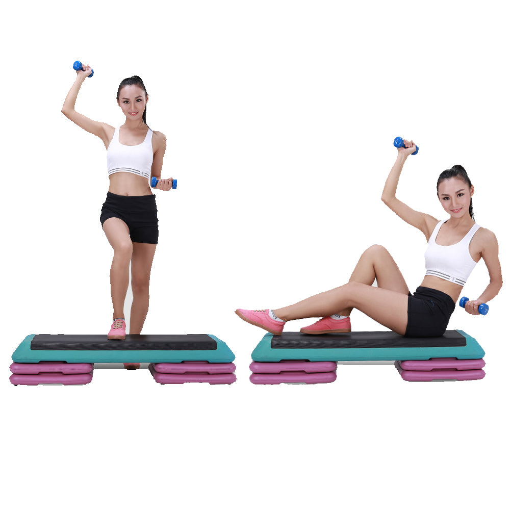 110 x 40 x 21cm Gym Home Used Aerobic Exercise Gymnastics Fitness Board with Pallets | 36865323
