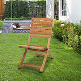 2 pcs Casual Cross Chair Burlywood | 81675608