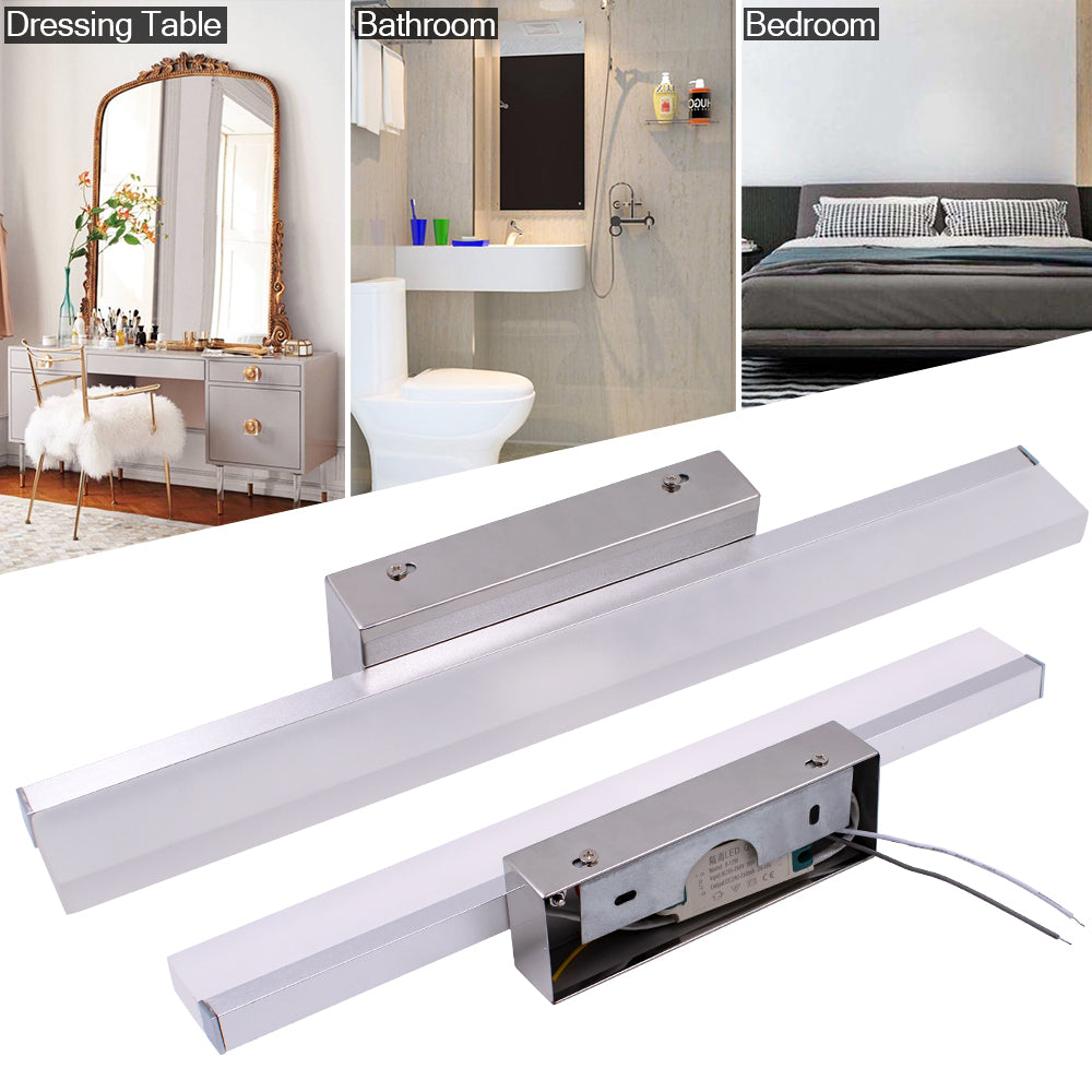 14W 100CM ZC001218 Bathroom Light Bar Silver White Light | 84567154
