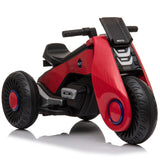 Children's Electric Motorcycle 3 Wheels Double Drive Red | 66505203
