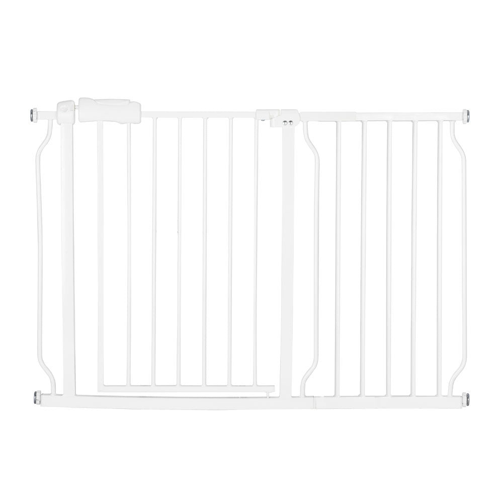 "A Style White Child Safety Gate (43.75 x 47.6 x 31.5) ""with 36CM Extension 