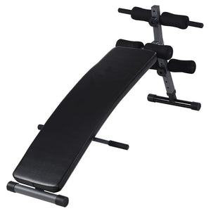 L-112 Home Gym Use Foldable Fitness Equipment Sit-ups Bench ABK | 84232062