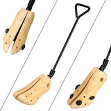 1 Pair Boot Stretchers Professional Wooden Shoes Stretcher for Boots 39-42 M | 01279062