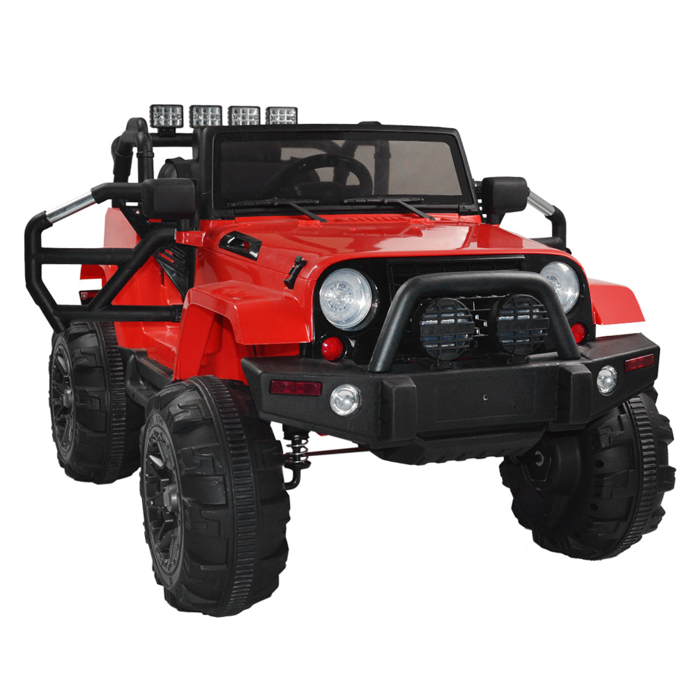 12V Kids Ride On Car SUV MP3 RC Remote Control LED Lights  | 84117204