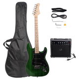 ST Stylish Electric Guitar with Black Pickguard Green | 04945098