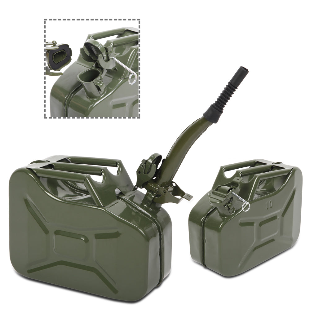 10L 0.8mm American Oil Barrel Army Green With Inverted Oil Pipe | 50246187