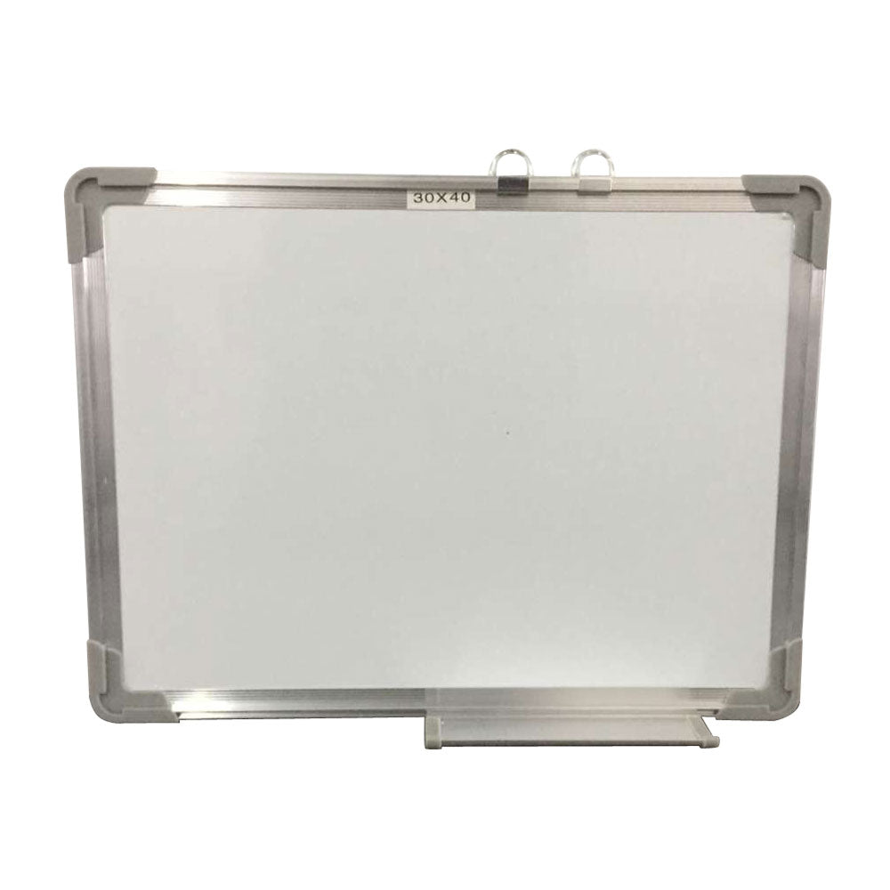 Single Sided Magnetic Dry-Erase Whiteboard with Marker & Eraser & 2pcs Magnets 40*30cm | 91886688