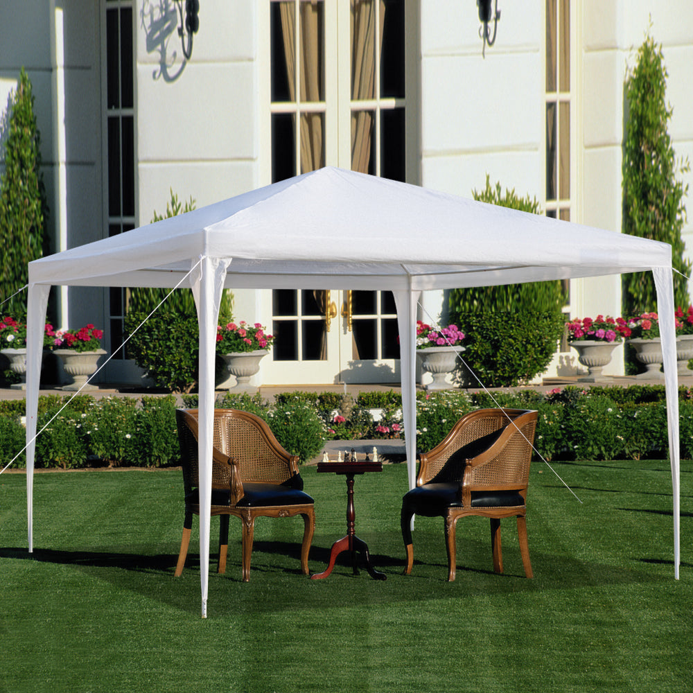 10'x10' Patio Party Tent Wedding Canopy Heavy Outdoor Upgrade Section | 14101739