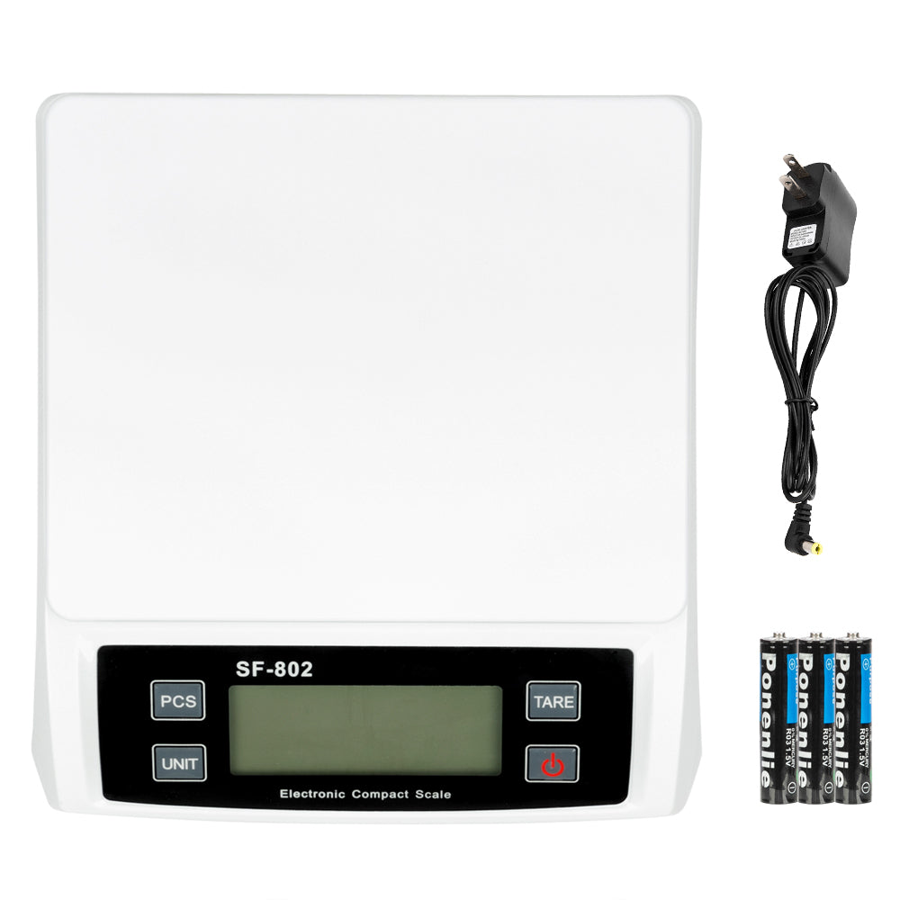 SF-802 30KG/1G High Precision LCD Digital Postal Shipping Scale White with adapter | 89999913