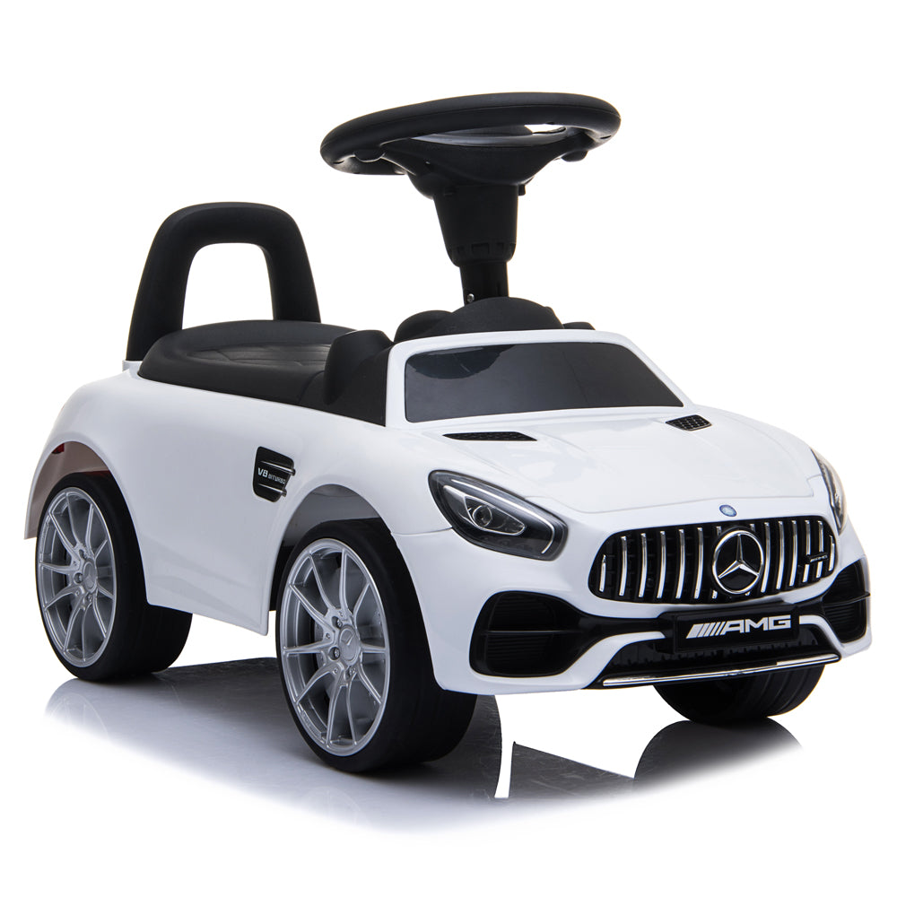 Small BENZ GT Car LZ-921 (Unpowered) White | 45570190