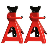 1 Pair of 3 Ton Jack Stands Red | 21463891