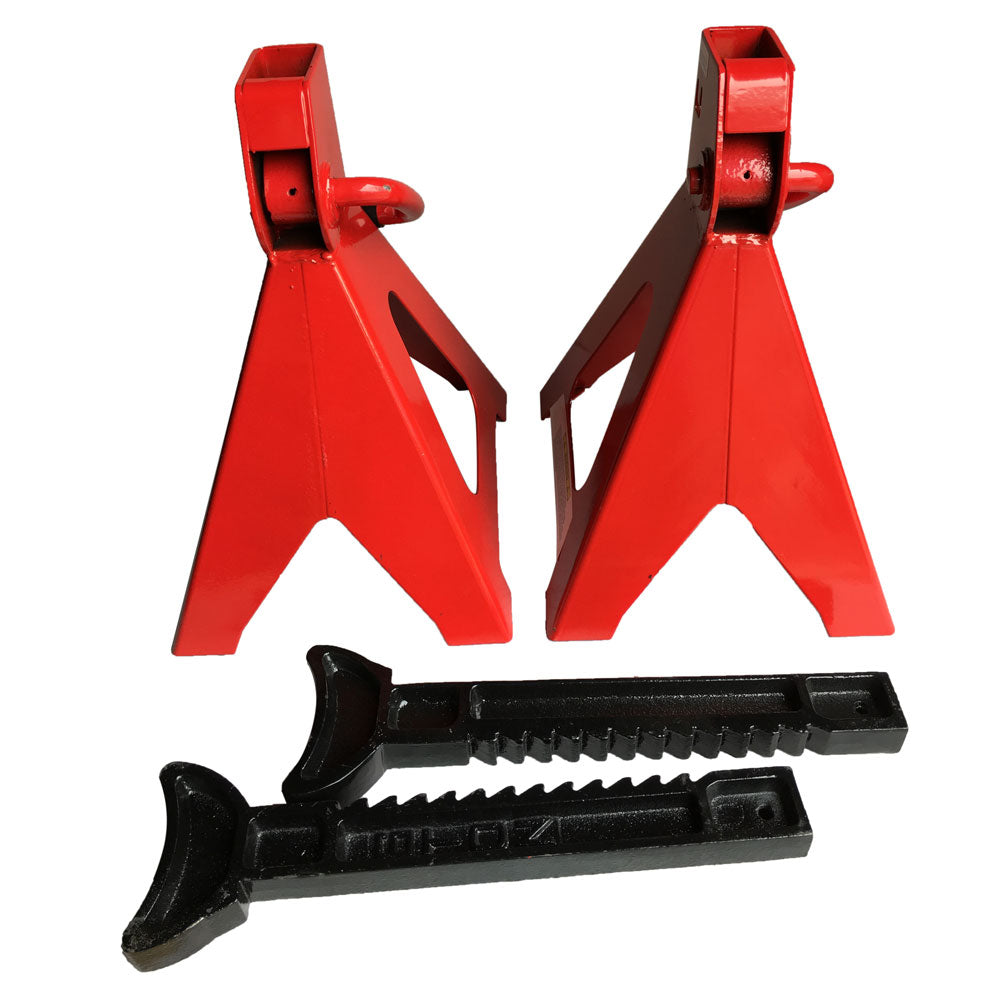 1 Pair of 6 Ton Jack Stands Red | 20374412