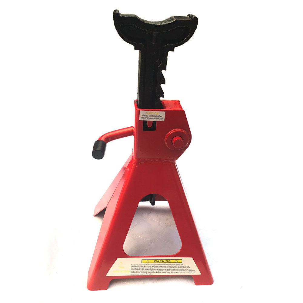 1 Pair of 2 Ton Jack Stands Red | 78196221