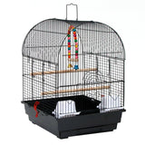 "19"" Small Bird Cage Pet Supplies Metal Cage for Parrots Lovebird Budgerigar 