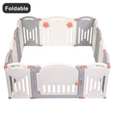 Baby Folding playpen Kids Activity Centre Safety Play Yard Home Indoor Outdoor | 81071827