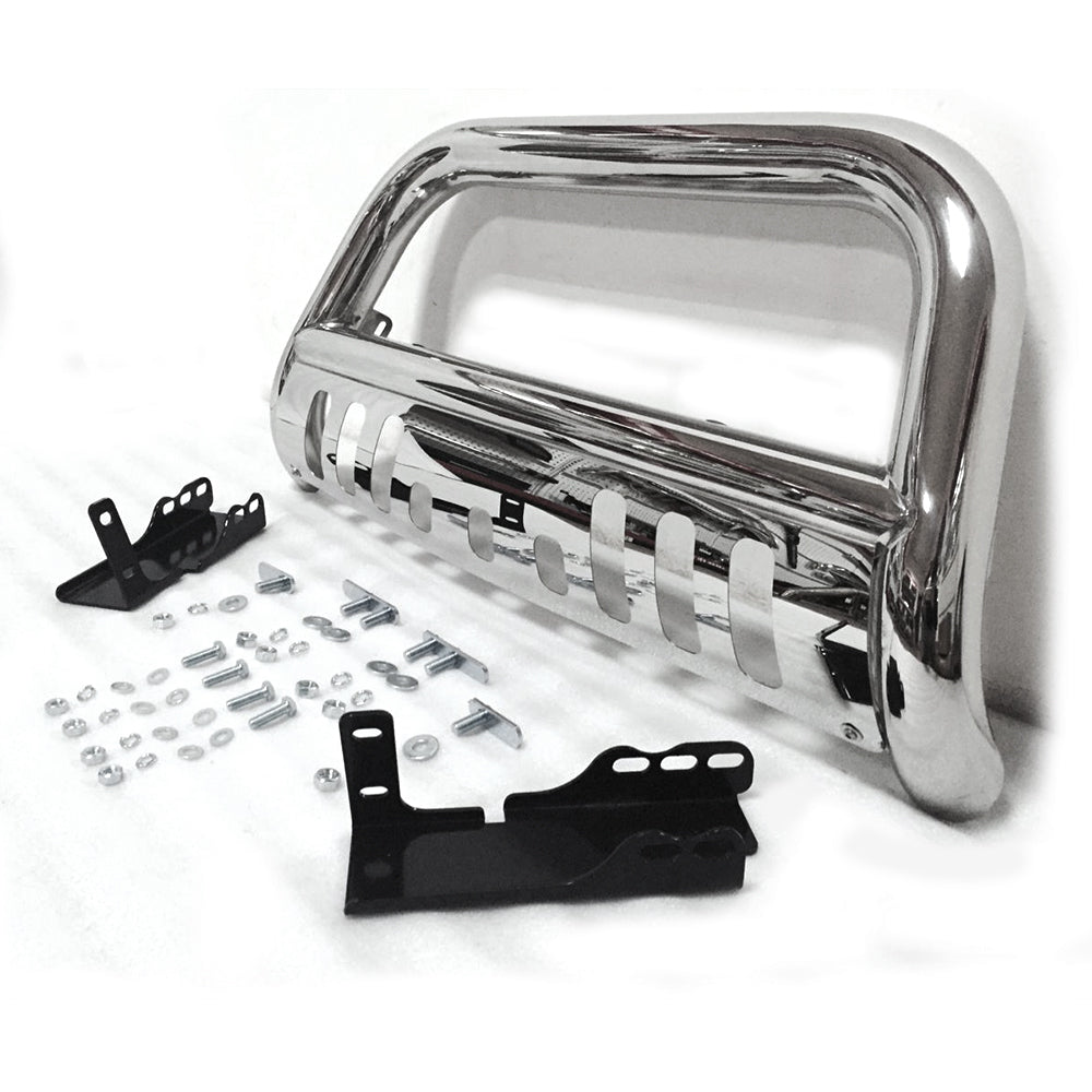 Stainless Steel Front Bumper Bull Bar Grille Guard for 2007 Chevy Silverado 1500 New Body Models/200 | 64773067