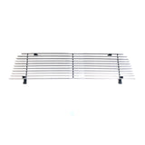 1pc Main Upper Polished Aluminum Car Grille for Ford Ranger 1993-1997 Not For 4WD Chrome | 73317376