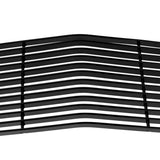 Aluminum Car Main Upper Grille for 2009-2014 Dodge Challenger Phantom Black Coating | 98418325