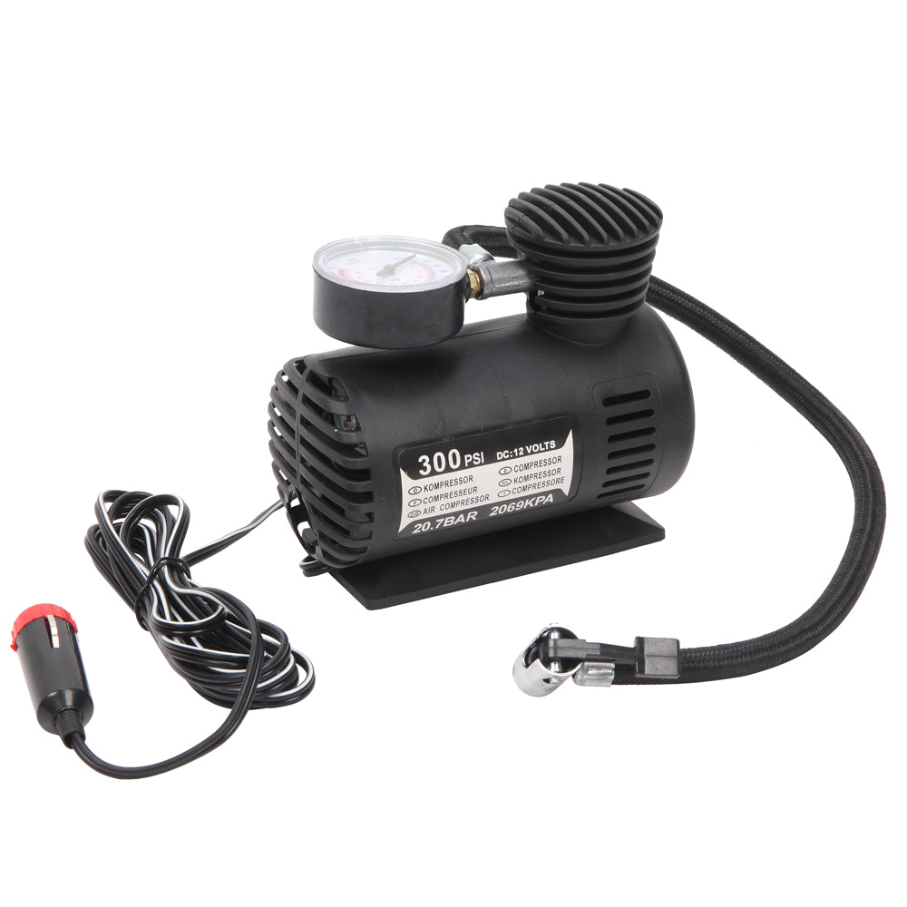 12V Portable Mini Air Compressor Black | 62714195