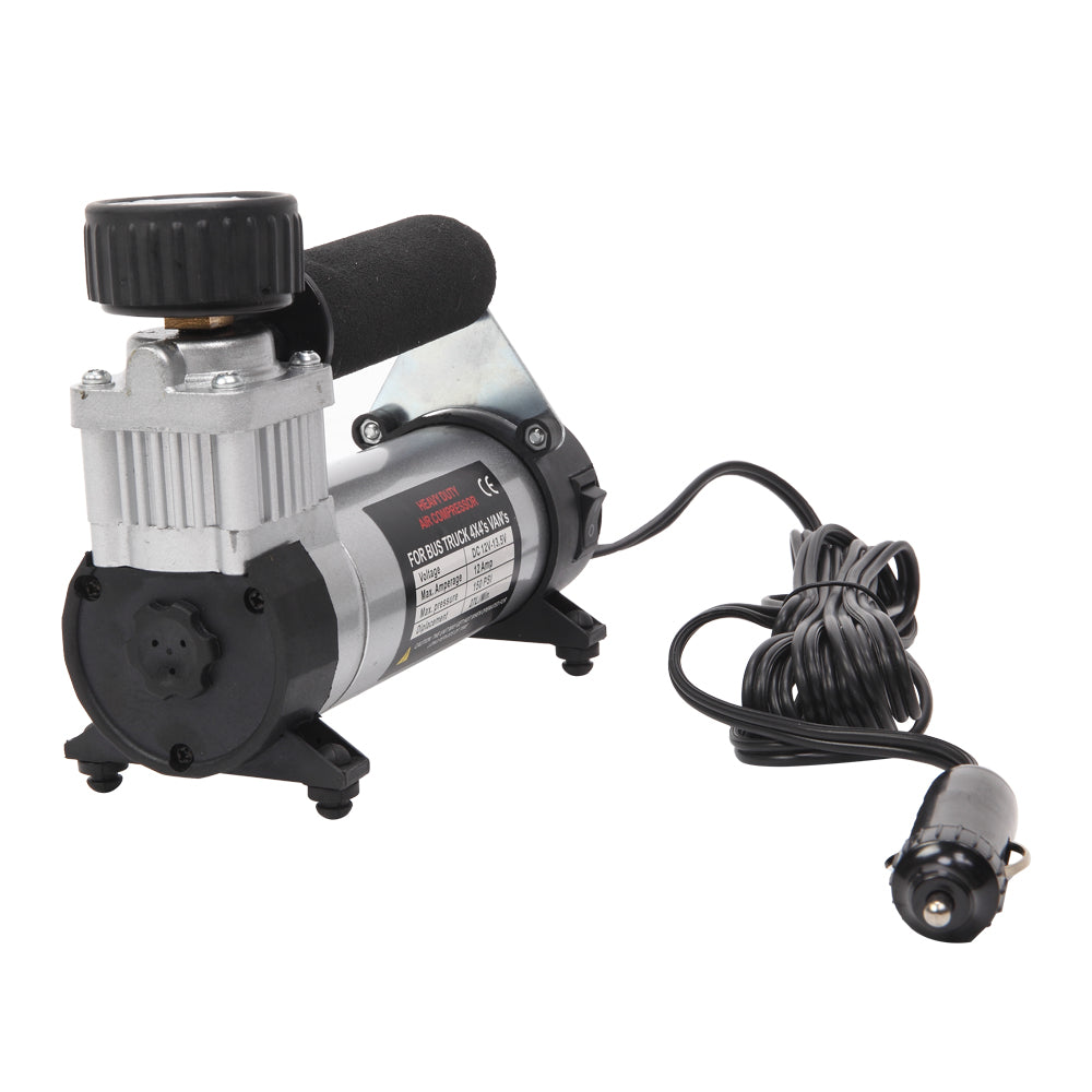 150PSI 12V Portable Air Compressor Sliver & Black | 95010068